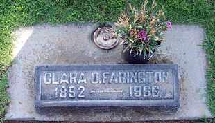FARINGTON, CLARA ORRINA - Sutter County, California | CLARA ORRINA FARINGTON - California Gravestone Photos