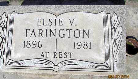 FARINGTON, ELSIE VIOLA - Sutter County, California | ELSIE VIOLA FARINGTON - California Gravestone Photos