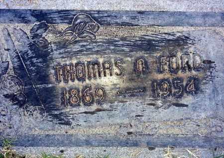 FORD, THOMAS N. - Sutter County, California | THOMAS N. FORD - California Gravestone Photos