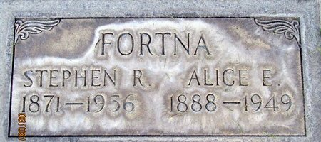 ATWOOD FORTNA, ALICE E. - Sutter County, California | ALICE E. ATWOOD FORTNA - California Gravestone Photos