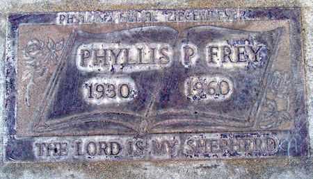 ZIEGENMEYER FREY, PHYLLIS PAULINE - Sutter County, California | PHYLLIS PAULINE ZIEGENMEYER FREY - California Gravestone Photos