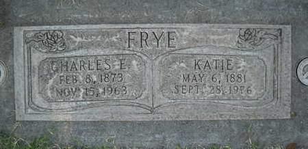 FRYE, CHARLES E. - Sutter County, California | CHARLES E. FRYE - California Gravestone Photos