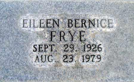 FRYE, EILEEN BERNICE - Sutter County, California | EILEEN BERNICE FRYE - California Gravestone Photos