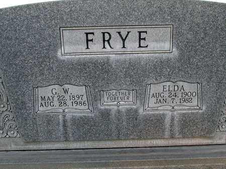 FRYE, ELDA LANGE - Sutter County, California | ELDA LANGE FRYE - California Gravestone Photos