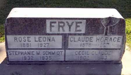 FRYE, ROSE LEONA - Sutter County, California | ROSE LEONA FRYE - California Gravestone Photos