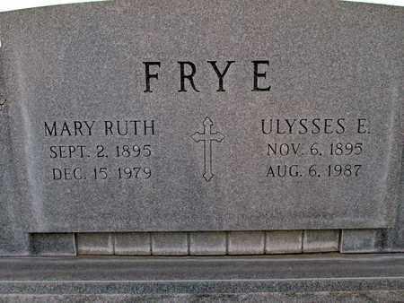 FRYE, ULYSSES ELMO - Sutter County, California | ULYSSES ELMO FRYE - California Gravestone Photos