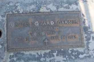 GARNER, ORVEL EDWARD - Sutter County, California | ORVEL EDWARD GARNER - California Gravestone Photos