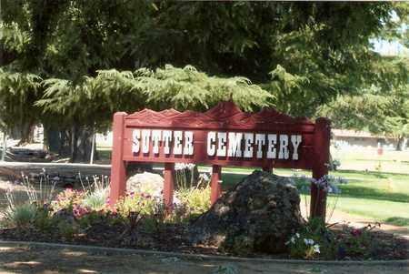 GEFFRONIES, TONY - Sutter County, California | TONY GEFFRONIES - California Gravestone Photos