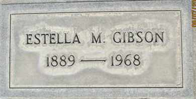 GIBSON, ESTELLA M. - Sutter County, California | ESTELLA M. GIBSON - California Gravestone Photos