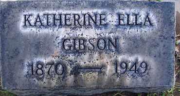GIBSON, KATHERINE ELLA - Sutter County, California | KATHERINE ELLA GIBSON - California Gravestone Photos