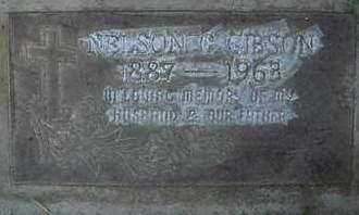 GIBSON, NELSON C. - Sutter County, California | NELSON C. GIBSON - California Gravestone Photos