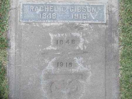 GIBSON, RACHEL C. - Sutter County, California | RACHEL C. GIBSON - California Gravestone Photos
