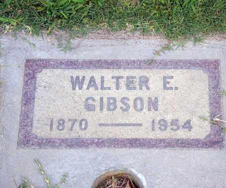 GIBSON, WALTER EDWARD - Sutter County, California | WALTER EDWARD GIBSON - California Gravestone Photos
