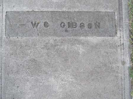 GIBSON, W.C. - Sutter County, California | W.C. GIBSON - California Gravestone Photos