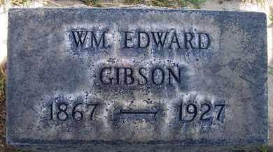 GIBSON, WILLIAM EDWARD - Sutter County, California | WILLIAM EDWARD GIBSON - California Gravestone Photos