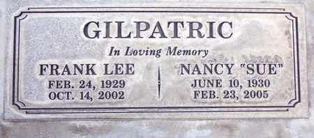 GILPATRIC, NANCY SUE - Sutter County, California   NANCY SUE GILPATRIC - California Gravestone Photos