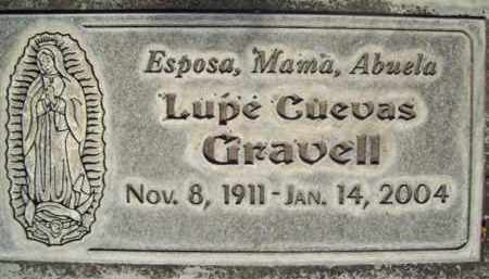 GRAVELL, LUPE CUEVAS - Sutter County, California | LUPE CUEVAS GRAVELL - California Gravestone Photos