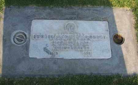 HAGGERTY, LEO FRANCIS - Sutter County, California | LEO FRANCIS HAGGERTY - California Gravestone Photos