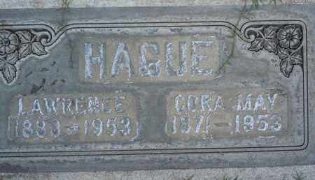 HAGUE, CORA MAY - Sutter County, California | CORA MAY HAGUE - California Gravestone Photos