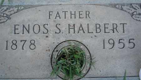 HALBERT, ENOS SYLVESTER - Sutter County, California | ENOS SYLVESTER HALBERT - California Gravestone Photos