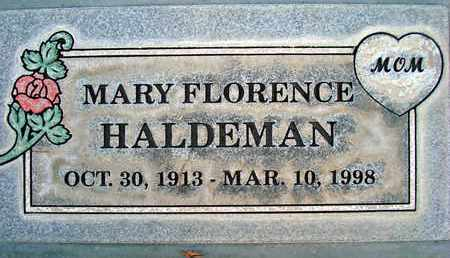 HALDEMAN, MARY FLORENCE - Sutter County, California | MARY FLORENCE HALDEMAN - California Gravestone Photos