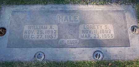 HALE, WILLIAM ALBERT - Sutter County, California | WILLIAM ALBERT HALE - California Gravestone Photos
