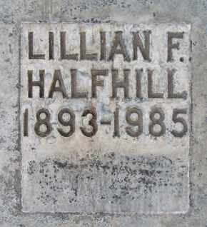 HALFHILL, LILLIAN F. - Sutter County, California | LILLIAN F. HALFHILL - California Gravestone Photos