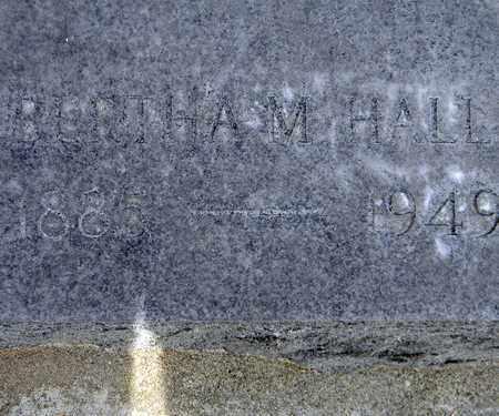 HALL, BERTHA MAY - Sutter County, California | BERTHA MAY HALL - California Gravestone Photos