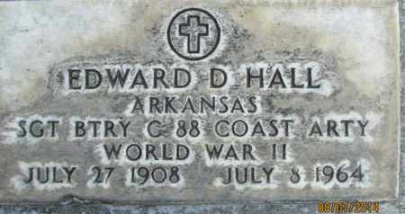 HALL, EDWARD D. - Sutter County, California | EDWARD D. HALL - California Gravestone Photos