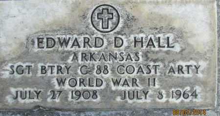 HALL, EDWARD D. - Sutter County, California | EDWARD D. HALL - California Gravestone Photos