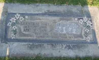 HALL, LURA MAE - Sutter County, California   LURA MAE HALL - California Gravestone Photos