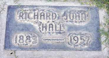 HALL, RICHARD JOHN - Sutter County, California | RICHARD JOHN HALL - California Gravestone Photos