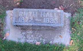 HALL, RUTH - Sutter County, California | RUTH HALL - California Gravestone Photos