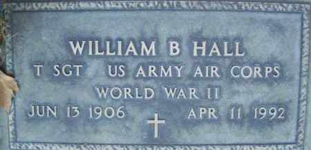 HALL, WILLIAM B. - Sutter County, California | WILLIAM B. HALL - California Gravestone Photos