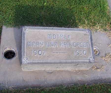 HALVORSEN, MARY ELVA - Sutter County, California | MARY ELVA HALVORSEN - California Gravestone Photos