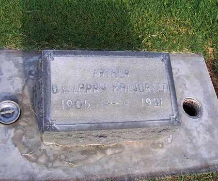 HALVORSEN, OSCAR LAWRENCE - Sutter County, California | OSCAR LAWRENCE HALVORSEN - California Gravestone Photos