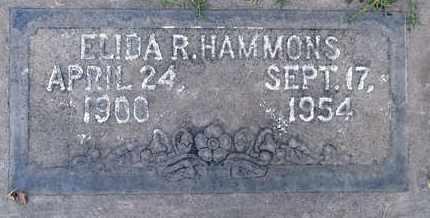 HAMMONS, ELIDA R. - Sutter County, California   ELIDA R. HAMMONS - California Gravestone Photos