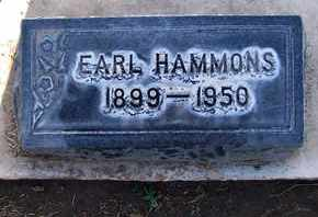HAMMONS, EARL - Sutter County, California   EARL HAMMONS - California Gravestone Photos