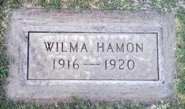 HAMON, WILMA - Sutter County, California   WILMA HAMON - California Gravestone Photos