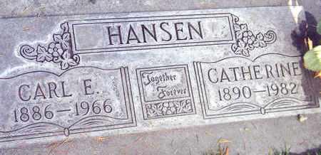 HANSEN, CATHERINE G. - Sutter County, California | CATHERINE G. HANSEN - California Gravestone Photos