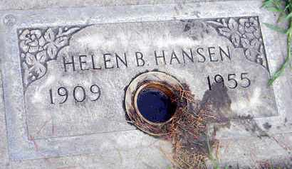 HANSEN, HELEN B. - Sutter County, California | HELEN B. HANSEN - California Gravestone Photos