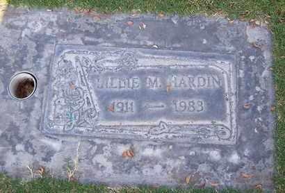 HARDIN, LILLIE M. - Sutter County, California | LILLIE M. HARDIN - California Gravestone Photos