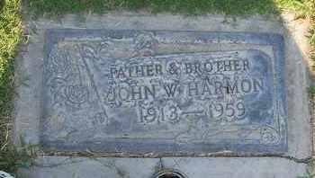 HARMON, JOHN WILLIS - Sutter County, California   JOHN WILLIS HARMON - California Gravestone Photos