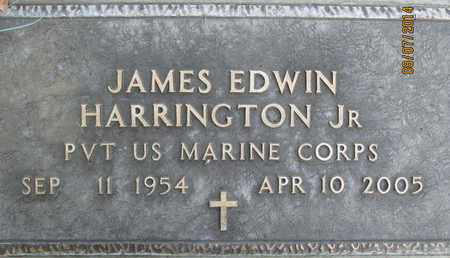 HARRINGTON, JR., JAMES EDWIN - Sutter County, California | JAMES EDWIN HARRINGTON, JR. - California Gravestone Photos