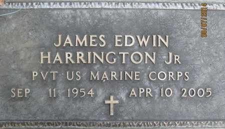 HARRINGTON, JR., JAMES EDWIN - Sutter County, California   JAMES EDWIN HARRINGTON, JR. - California Gravestone Photos