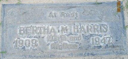 HARRIS, BERTHA MINNIE - Sutter County, California | BERTHA MINNIE HARRIS - California Gravestone Photos