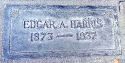 HARRIS, EDGAR ALLEN - Sutter County, California | EDGAR ALLEN HARRIS - California Gravestone Photos