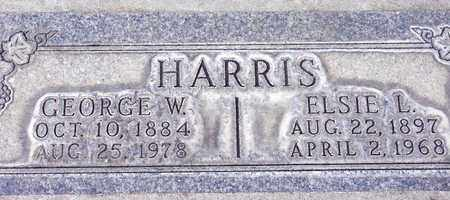HARRIS, GEORGE WHITE - Sutter County, California | GEORGE WHITE HARRIS - California Gravestone Photos