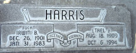 HARRIS, ETHEL B. - Sutter County, California | ETHEL B. HARRIS - California Gravestone Photos