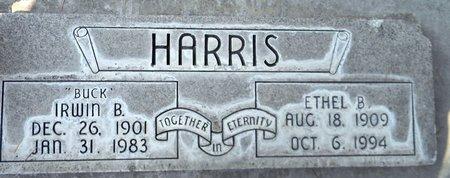 HARRIS, IRWIN BYNON - Sutter County, California   IRWIN BYNON HARRIS - California Gravestone Photos